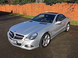 Mercedes-Benz SL350 Sport, Panoramic Roof, Automatic, 18,352 Miles